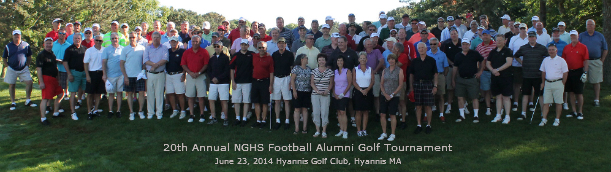 20th Annual NQHS Football Alumni Group Picture