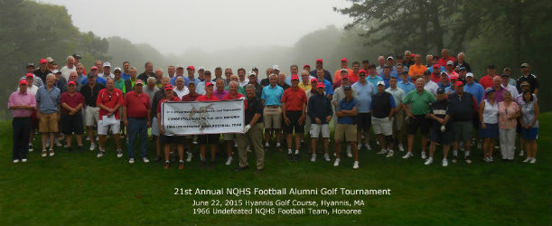 21st Annual NQHS Football Alumni Group Picture