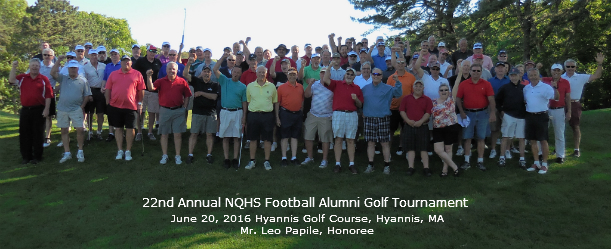 22nd Annual NQHS Football Alumni Group Picture