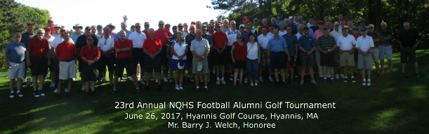 23nd Annual NQHS Football Alumni Group Picture